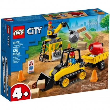 LEGO City Great Vehicles 60252 Construction Bulldozer
