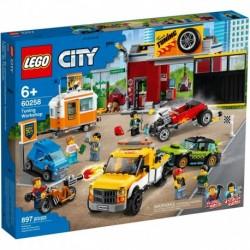 LEGO City Nitro Wheels 60258 Tuning Workshop