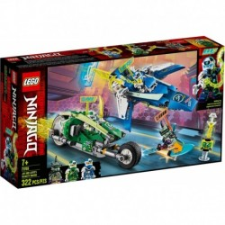 LEGO Ninjago 71709 Jay and Lloyd's Velocity Racers