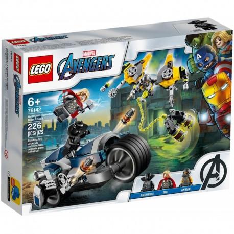 LEGO Marvel Avengers 76142 Avengers Speeder Bike Attack