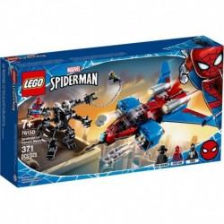 LEGO Marvel Spiderman 76150 Spiderjet vs. Venom Mech