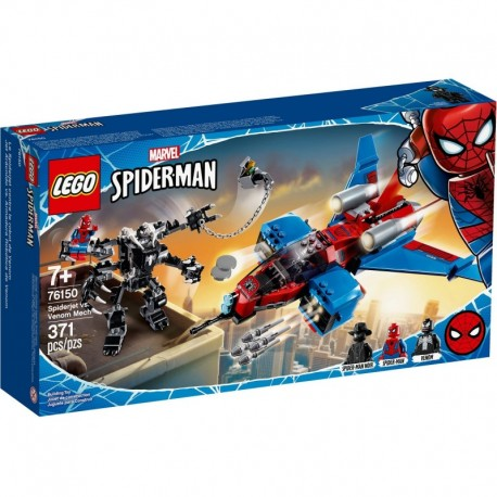LEGO Marvel Spiderman 76150 Spiderjet vs. Venom Mech