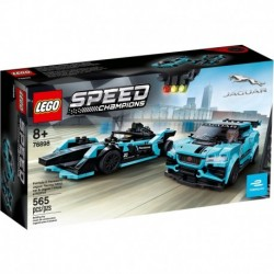 LEGO Speed Champions 76898 Formula E Panasonic Jaguar Racing GEN2 Car & Jaguar I-PACE Etrophy