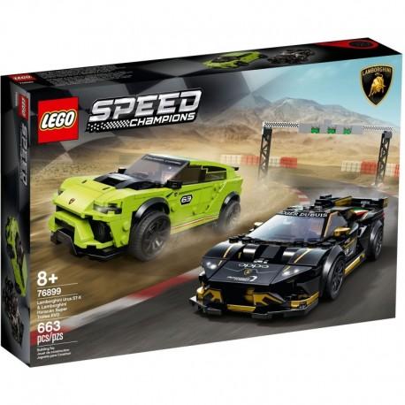 LEGO Speed Champions 76899 Lamborghini Urus ST-X & Huracan Super Trofeo EVO