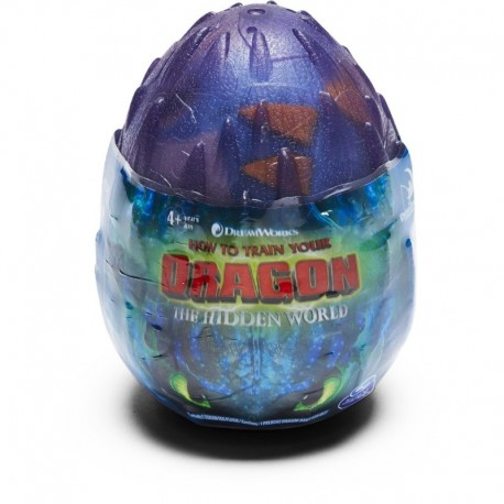 How to Train Your Dragon 3 Plush Dragon Eggs S2 - Purple
