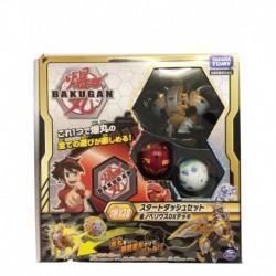 Bakugan Battle Planet 038 Starter Set (Pro Gold Griffin, Red Mantis, White Triceratops)
