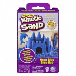 Kinetic Sand Neon Sand 8oz - Blue