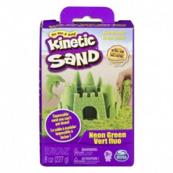 Kinetic Sand Neon Sand 8oz - Green