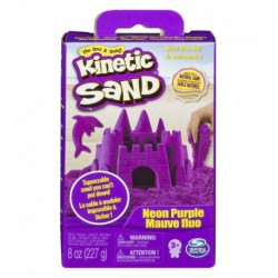 Kinetic Sand Neon Sand 8oz - Purple