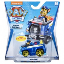 Paw Patrol Die Cast Core Vehicle - Chase with Yellow Cone