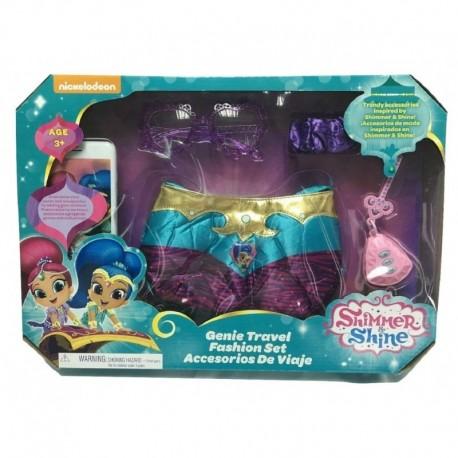 Shimmer and Shine Genie Travel Fashion Set