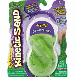 Kinetic Sand Neon Green Refill 6oz (170g)