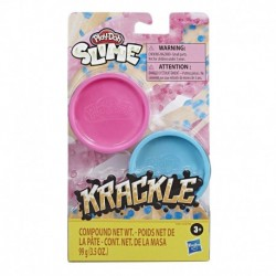 Play-Doh Krackle Compound Pink and Blue