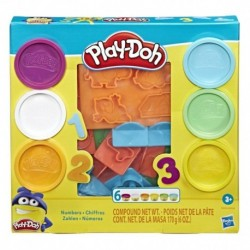 Play-Doh Fundamentals Number Stampers Tool Set