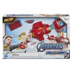 Nerf Power Moves Marvel Avengers Iron Man Repulsor Blast Gauntlet Dart-Launching