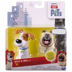 The Secret Life of Pets Max and Mel Vinyl 2 Pack Altx