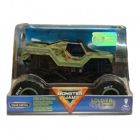 Monster Jam 1:24 Collector Die Cast Trucks - Soldier Fortune