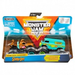 Monster Jam 1:64 2 Packs Double Down Showdown - Scooby-Doo vs. The Mystery Machine