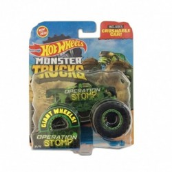 Hot Wheels Stealth Smashers Operation Stomp Monster Truck