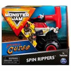 Monster Jam 1:43 Spin Rippers Trucks - Pirate's Curse