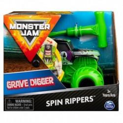 Monster Jam 1:43 Spin Rippers Trucks - Grave Digger