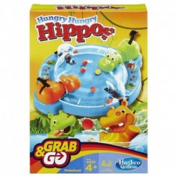 Elefun & Friends Hungry Hungry Hippos Grab & Go Game