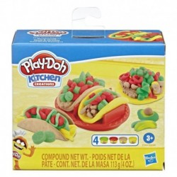 Play-Doh Kitchen Creations Taco Time Play Food Set