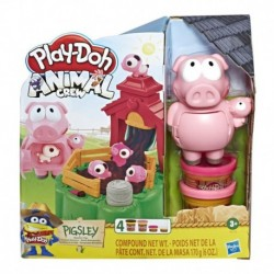 Play-Doh Animal Crew Pigsley and her Splashin' Pigs Farm Animal Playset