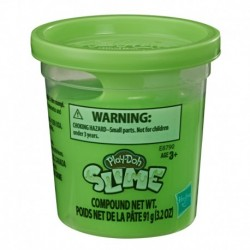 Play-Doh Slime Single Can - Light Green