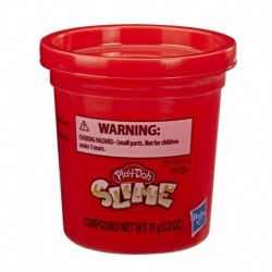 Play-Doh Slime Single Can - Red