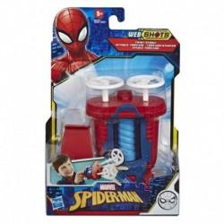 Marvel Spider-Man Web Shots Gear Twist Strike Blaster