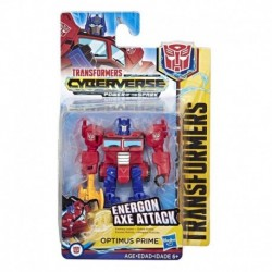 Transformers Cyberverse Action Attackers Scout Class Optimus Prime Action Figure