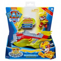 Paw Patrol Charged Up Deluxe Vehicle - Marshall