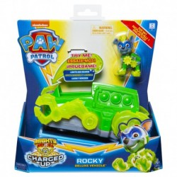 Paw Patrol Charged Up Deluxe Vehicle - Rocky