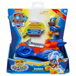Paw Patrol Charged Up Deluxe Vehicle - Zuma