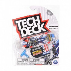 Tech Deck Single Pack Fingerboard - Finesse Sonic The Hedgehog Neo Metal