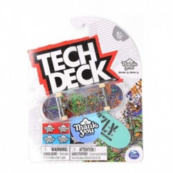 Tech Deck Single Pack Fingerboard - Thank You Torey Pudwill Wizard