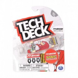 Tech Deck Single Pack Fingerboard - Finesse Sonic The Hedgehog Knuckles