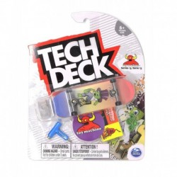 Tech Deck Single Pack Fingerboard - Toy Machine Jeremy Leabres