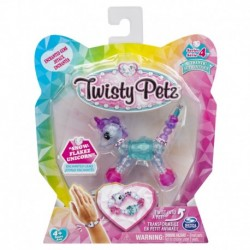 Twisty Petz Single Pack Bracelet - Snowflakez Unicorn