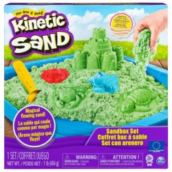Kinetic Sand Boxed Set Sand 1lb (454g) - Green