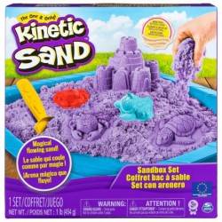 Kinetic Sand Boxed Set Sand 1lb (454g) - Purple
