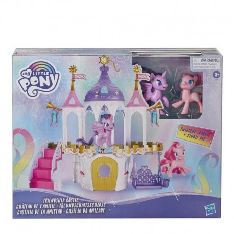 My Little Pony Friendship Castle Playset With Twilight Sparkle and Pinkie Pie
