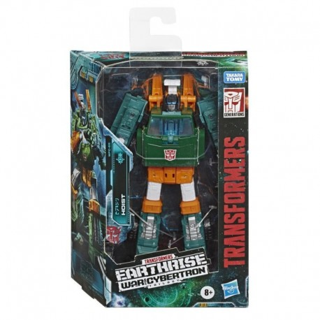 Transformers Generations War for Cybertron: Earthrise Deluxe WFC-E5 Hoist