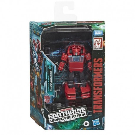 Transformers Generations War for Cybertron: Earthrise Deluxe WFC-E7 Cliffjumper