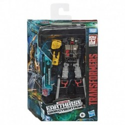 Transformers Generations War for Cybertron: Earthrise Deluxe WFC-E8 Ironworks Modulator Figure