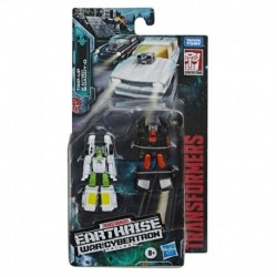Transformers Generations War for Cybertron: Earthrise Micromaster WFC-E3 Hot Rod Patrol 2-Pack