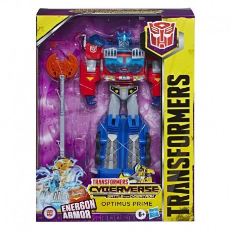 Transformers Cyberverse Ultimate Class Optimus Prime Action Figure