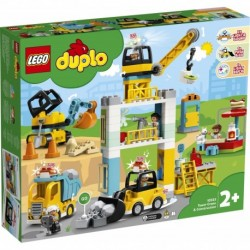 LEGO DUPLO Town 10933 Tower Crane & Construction