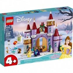 LEGO Disney 43180 Belle's Castle Winter Celebration